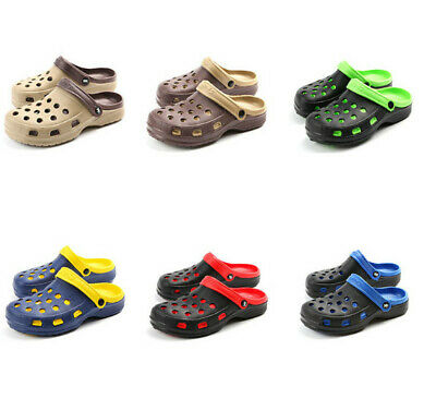 New Men's Summer Cave Shoes Baotou Garden Beach Shoes Outdoor Slip-proof