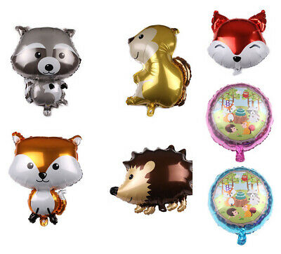 Jungle Animal Foil Balloon Boy Girl Kids Birthday Xmas Gift Party Favor Supply