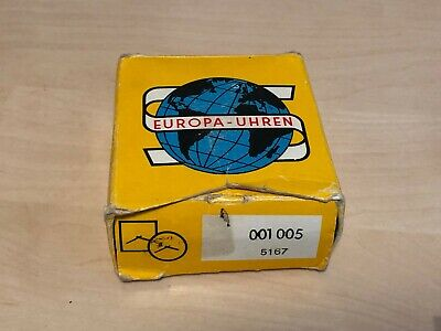 Boxed Vintage Europa Travel Alarm Clock - Working - VGC