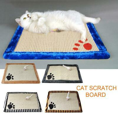 Pet Cat Toys Mat Scratch Scratching Board Claws Sisal Hemp Pad Kitten Supplies
