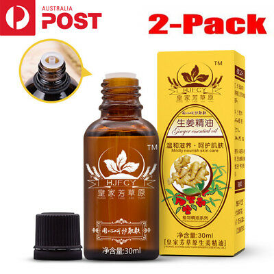 1/2-Pack 30ml Plant Therapy Lymphatic Drainage Ginger Oil [ 100% Natural ]  CO