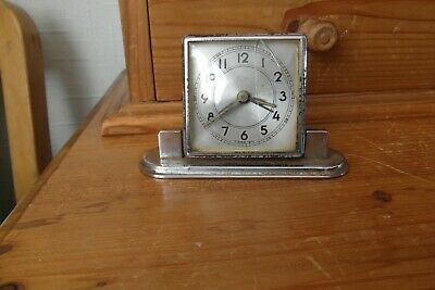 vintage windup alarm clock