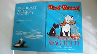 Acceptable - Fred Basset and the Spaghetti (A 'Daily mail' publication) - Neilso