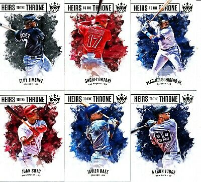 2019 Panini Diamond Kings - HEIRS TO THE THRONE INSERTS - U Pick From List