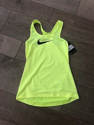397370eeb3c NIKE PRO HYPERCOOL Crop Top Volt Yellow, Size XS, New With Tags ...