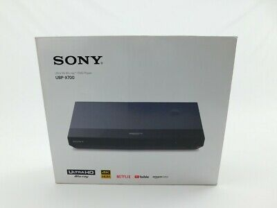 Sony UBP-X700 HDR 4k Ultra HD Blu-ray Disc Player with Dolby Vision in Black
