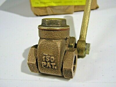 *New* Webstone 3/8 Inch I.p.s. Quick-Opening Gate Valve (19301)