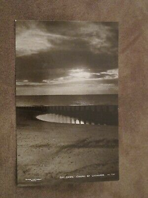 Real photographic Sussex Postcard - 'day dawn' Chapel - St Leonards - Hastings