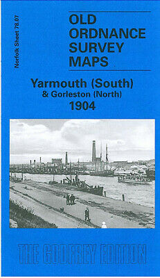Old Ordnance Survey Map Yarmouth South Gorleston North 1904 Race Course