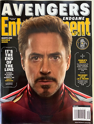 Entertainment Weekly April 2019 - Avengers Endgame -  Iron Man  - No Label