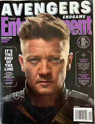 Entertainment Weekly April 2019 - Avengers End Game -  Hawkeye  - No Label