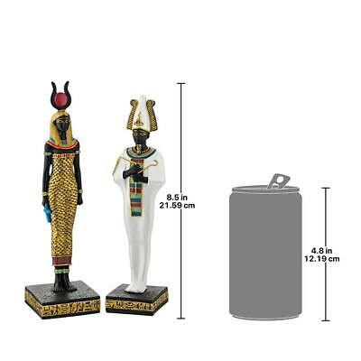 Design Toscano Osiris and Hathor Deities of Ancient Egypt Statues