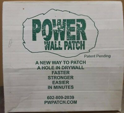 Power Wall Patch Kit Drywall repair repairs holes behind door handles Brand New
