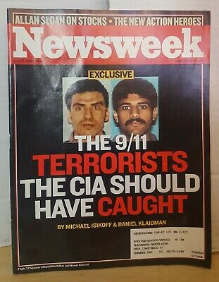 Newsweek Magazine June 10, 2002- The 9/11 Terrorists The CIA Should Have Caught