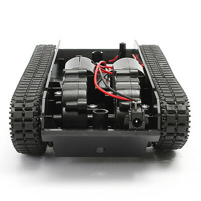 Smart Robot Tank Car DIY Chassis Kit Rubber Track Crawler for Arduino 130 Motor