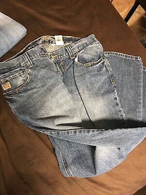 3aa1c21aa68 Men's CINCH CARTER Denim Jeans size 36 / 32 RELAXED BOOT CUT BARELY USED