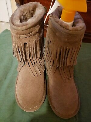 8548c35c6cb KOOLABURRA BY UGG Cable Woman's Winter Boots Suede Black US 5 ...
