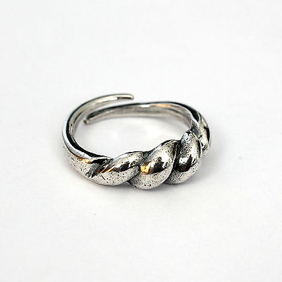 Ancient Solid Sterling Silver Viking Bornholm Ring Norse  Unisex Ring 288