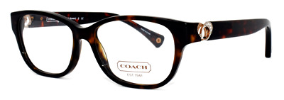 833345b724dc New Authentic Coach Eyeglasses Hc6038 5001 Amara Dark Tortoise 51-14-135