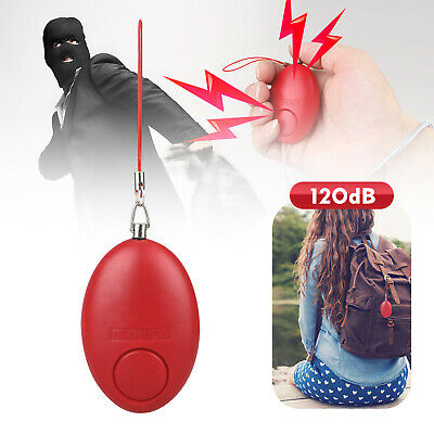 Safe Personal Alarm Loud Emergency Alert Self Defense For Women Safety Keychain