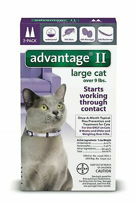 for Cats Over 9 lbs. 2 pack (2 Doses)
