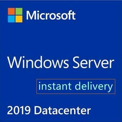 Windows Server 2019 Datacenter Key  64-bit Instant Delivery and Download link