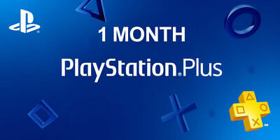 1 Month PS Plus PlayStation Plus PS4  2 14-Day Membership No Code