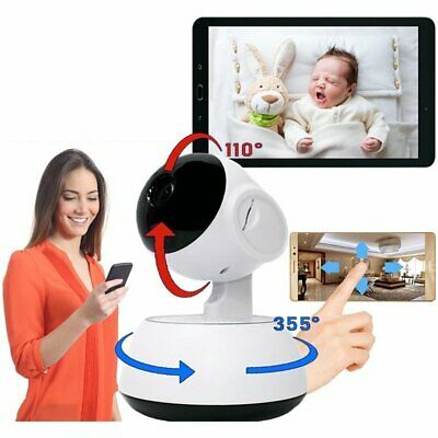 HD Wireless WiFi Smart Home Security Camera Night Vision Baby Dog Video Monitor