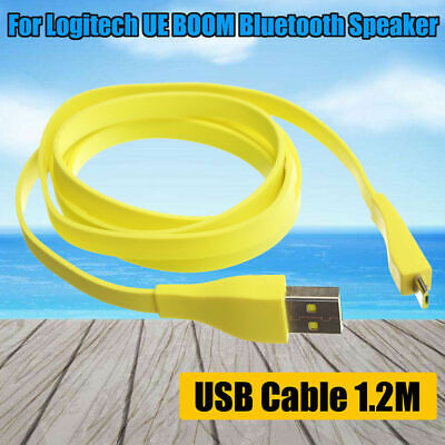 AUAU For Logitech UE BOOM Bluetooth Speaker 1.2M Micro USB PC Charger Data Cable