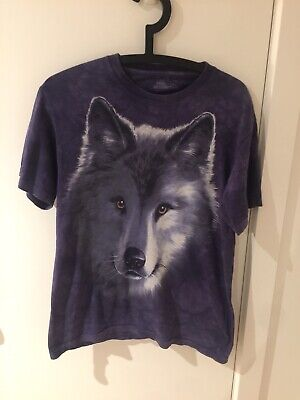 Vintage Wolf T Shirt Size Small