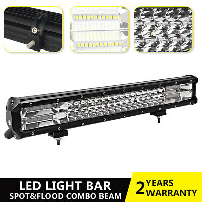 18inch LED Light Bar 7D Triple Row Combo Utility Series 4WD Offroad Driving Lamp