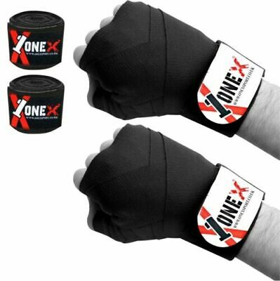 TurnerMAX Hand Wraps Fist Protector Inner Gloves Boxing Bandages Muay Thai Cotton 3.5 m