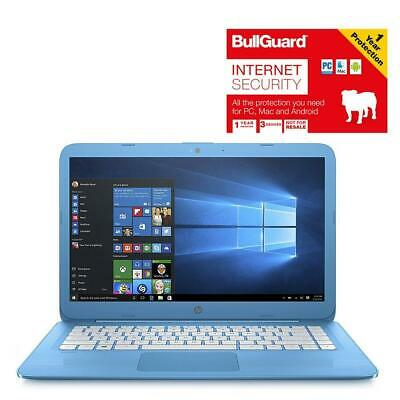 "HP Stream 14-AX000NA 14"" Laptop 4GB 32GB With BullGuard Internet Security"