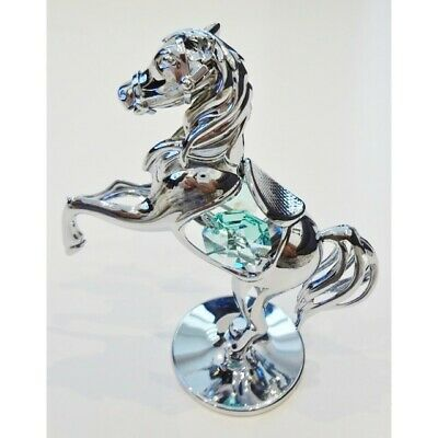 Crystocraft Pony Ornament with Swarovski Elements - Little Horse Figurine
