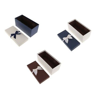 Paper Colorized Gift Box Case Wedding Business Gift Packing Box for Birthday