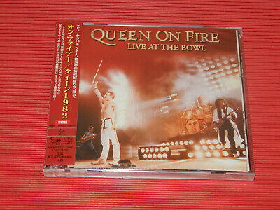 QUEEN ON FIRE LIVE AT THE BOWL 1982  (Jewel Case) JAPAN ONLY 2 SHM CD SET