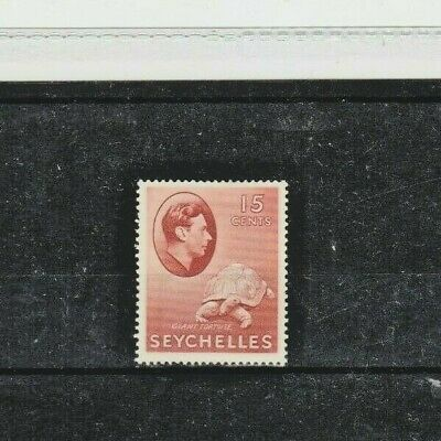 SEYCHELLES STAMPS. 1941 ISSUE, 15c BROWN RED COLOUR CHANGE. M/M. CAT £23.00.