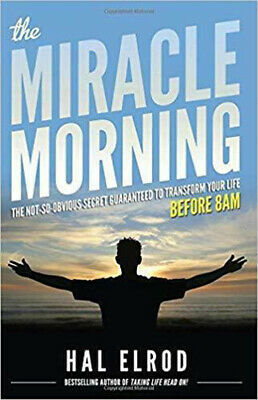 The Miracle Morning by Hal Elrod P.D.F Fast Free Email Delivery