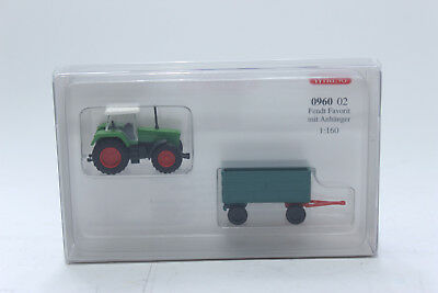 Wiking 1//160 N 095304 Hanomag R 16 con rimorchio Spur N 1:160 NUOVO OVP