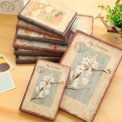 Retro Style Notebook Journal Diary Hand Book Weekly Planner Blank Sketchbook New