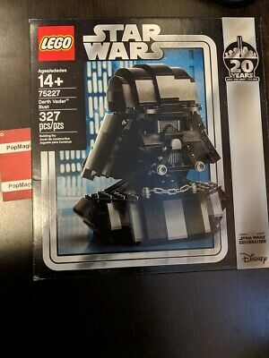 LEGO Star Wars 75227 Darth Vader Bust Helmet 2019 NEW 20 Yrs EXCLUSIVE IN HAND