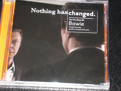 """David Bowie """" Nothing Has Changed Best Of Bowie """" Cd Brand New & Sealed"""