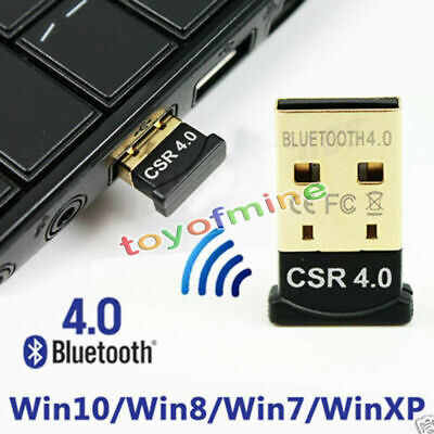 CSR 3Mbps Mini Bluetooth V4.0 USB2.0 Dongle Dual Mode Wireless Adapter black