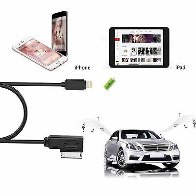 For AUDI Lightning Charging Charger IPHONE IPOD Cable AMI MDI MMI Adapter