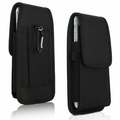 Sports Clip Nylon Belt Pouch Carrying Holder Rugged for iPhone W/ Otterbox Size