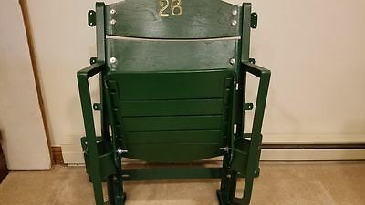 Vintage Wood Stadium Seat 1910's - 1920's Restored Yankees White Sox Cubs $ Sale