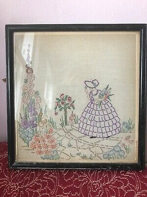 Vintage Tapestry Picture Wall Hanging