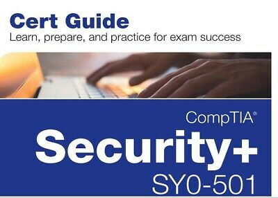 Comptia Security+ Exam SY0-501 Cert Guide 2018 PDF + Full Video Course