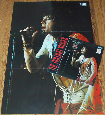 Rolling Stones, The ♪ Same ♪ LP [EX] + POSTER