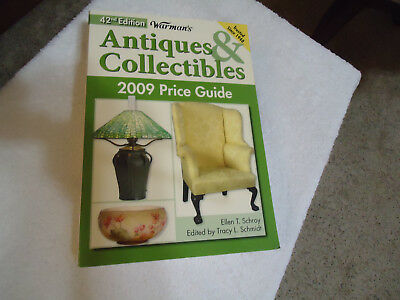 Warman's  Antiques & Collectibles Price Guide 2009 Ellen T. Schroy Like New